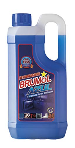Brumol Desengrasante Azul - Paquete de 6 x 2000 ml - Total: 12000 ml