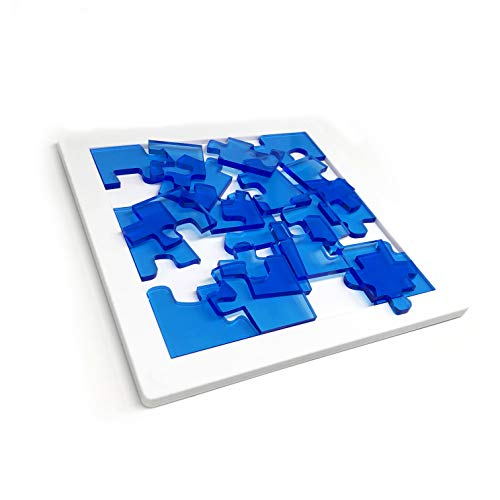 Sonpic Jigsaw Puzzles, Yuu Asaka Ice Puzzle 19 Acrylic 19 Pieces Puzzle Level 10- Intelligence Toy for Kids, Adults and Teenages-Puzzle 19