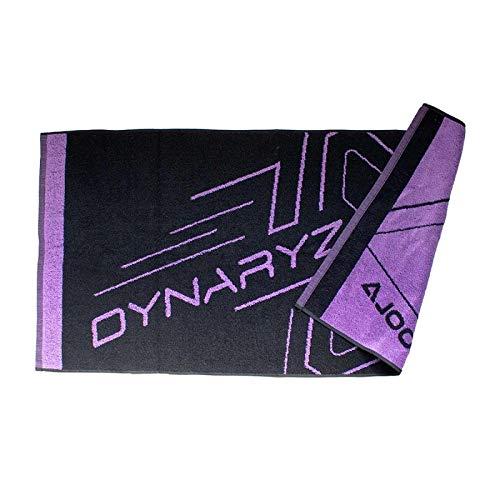 JOOLA Dynaryz Options St - Toalla de mano, color negro y morado