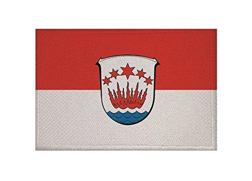 U24 Aufnäher Brensbach Fahne Flagge Aufbügler Patch 9 x 6 cm