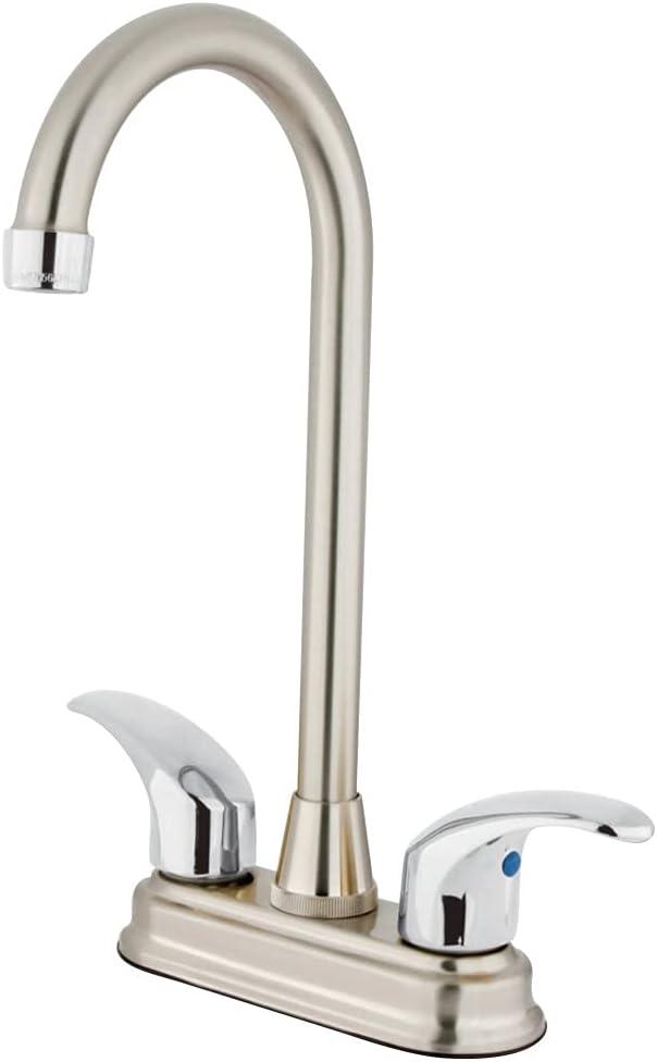 Kingston Brass 全商品オープニング価格 KB6497LL Legacy Center Br 4-Inch Faucet ついに入荷 4-3 Bar
