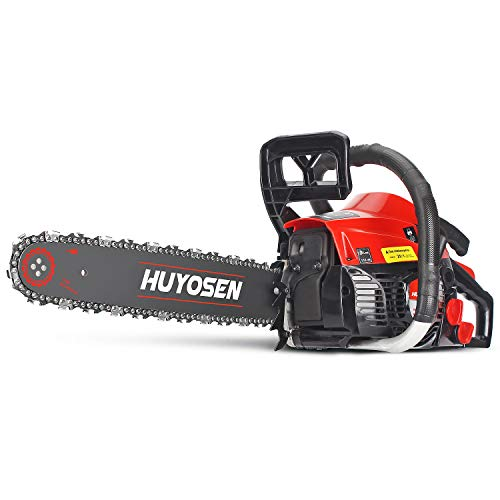 Gas Power Chain Saws Corded 40.1CC 2 Cycle Gas Powered