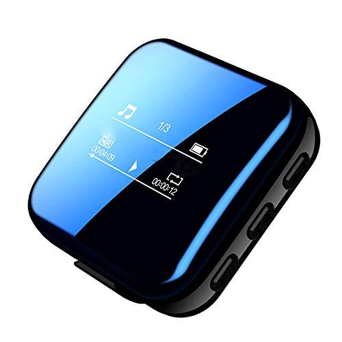 Ashey Reproductor Mp3, Bluetooth, HiFi, Reproductor de música, Reproductor Multimedia de grabación sin pérdida, Mini HiFi, Walkman, Deporte, Reproductor de Alta resolución, Flac Running