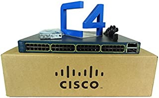 Cisco Catalyst 3560-E 48-Port Multi-Layer Ethernet Switch with PoE 48 x 10/100/1000Base-T