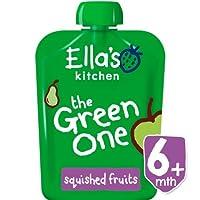 外国からの出荷Ella's Kitchen Organic Smoothie Fruits The Green One?5 x 90g