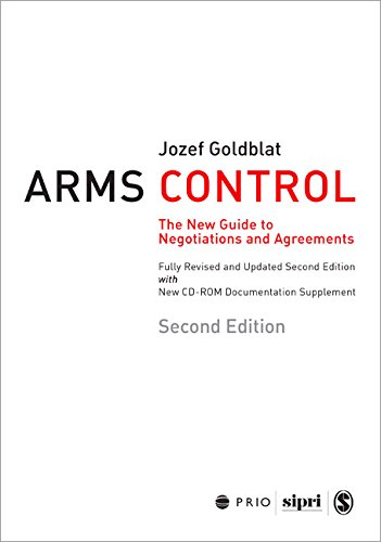 Goldblat, J: Arms Control: The New Guide to Negotiations and Agreements with New CD-ROM Supplement (International Peace Research Institute, Oslo, 258)