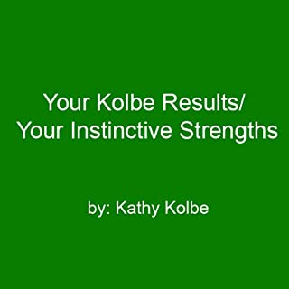Your Kolbe Result/Your Instinctive Strengths cover art