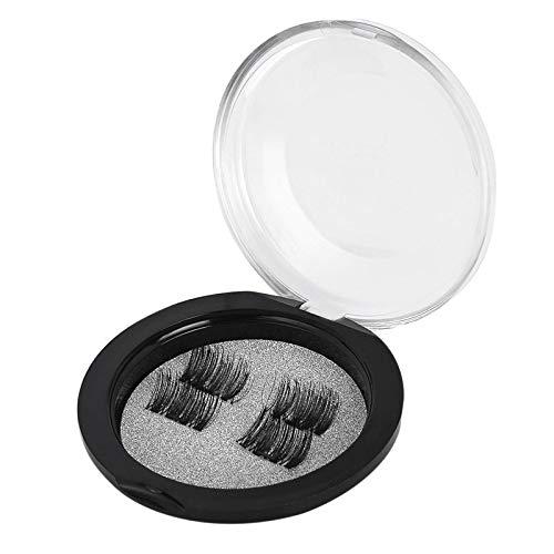 4 unidades cílios postiços magnéticos cílios postiços sem cola cílios postiços cílios postiços cílios postiços maquiagem cosméticos cosméticos cílios 3D conjunto de kit Rodalind