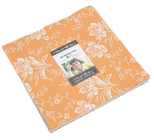All Hallows Eve Layer Cake 42 10-inch Squares Moda Fabrics by Fig Tree & Co. for Moda Fabrics 20350LC