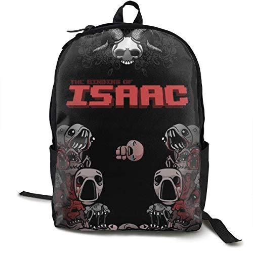 HGHGH Das Bin-Ding von Isa-ac Stilvolle Klassische große Kapazität Doppelpack Reißverschlusstasche Laptop-Tasche für Frauen Männer Kinder