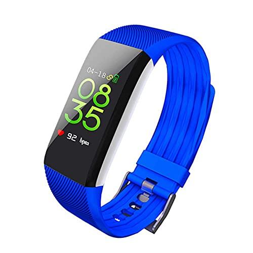 LITINGT Pulsera Inteligente Reloj Deportivo con Pasos Rastreador de Actividad a Prueba de Agua con Monitor de sueño Reloj Contador de calorías Información de monitoreo de Salud Reloj de Moda Push