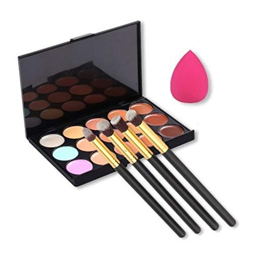 U-beauty(TM) 15 Colors Contour Face Cream Makeup Concealer Palette +...