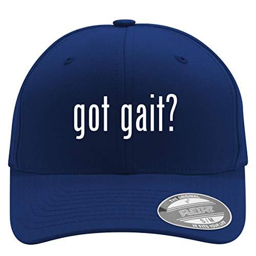 got gait? - Flexfit Adult Men's Baseball Cap Hat, Blue, Large/X-Large