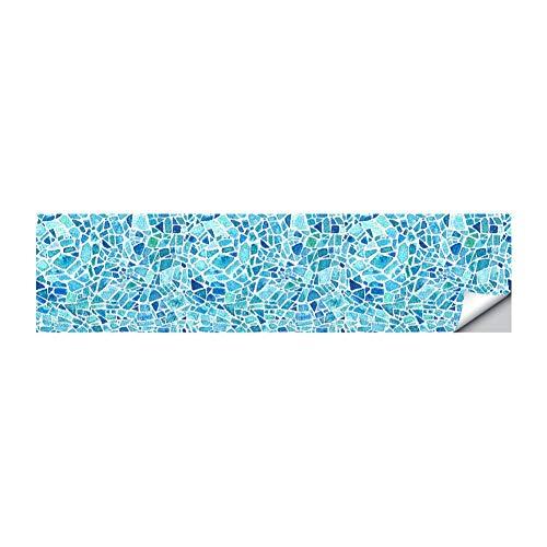 Byrhgood 6 PCS 3D Marruecos Estilo Escaleras Autoadhesivas Etiqueta Cerámica Azulejos PVC Escalera Fondo de Pantalla Vinilo Vinil Mural Escalera Decoración (Color : Dark Grey)