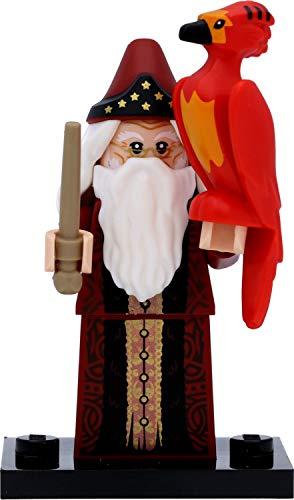 LEGO 71028 Harry Potter Minifigur in Geschenkbox #2 Albus Dumbledore & Phönix Fawkes