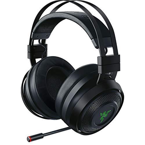 Razer Nari Ultimate ゲーミングヘッドセット 振動フィードバック THX360度立体音響 無線/有線 冷却ジェルパッド 【日本正規代理店保証品】 RZ04-02670100-R3M1