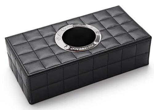 (ミオ) MIO ティッシュボックス おしゃれ 車内で使える 大きい ティッシュ箱 (ブラック)