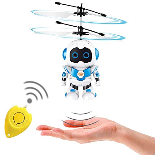 Flying Ball RC Toys for Kids, Hand Controlled Boy Flying Robot Toy Magic Drone Induction Helicopter Remote Control Outdoor Birthday Gift Game Toy for Boys Girls Kids