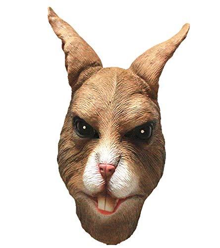 Animal Fancy Dress Mscara de conejo (marrn)