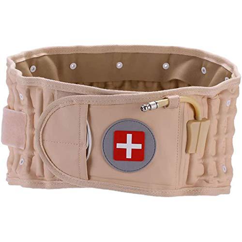 WLKQ Cinturón Trasero Descompresión del Aire Espinal Lumbar Tracción Neumática Protector Cintura Dolor de la Correa Soporte Lumbar Inferior Adecuado para 29 Pulgadas -49 Pulgadas