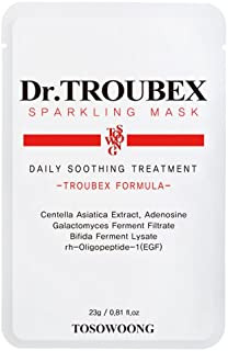 [TOSOWOONG] Dr. Troubex mask pack/10pcs/mask sheet pack/trouble care/skin care/trouble control