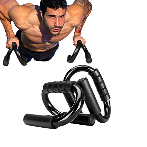Mein HERZ Sports Premium Maniglie per Flessioni, 1 Paio Maniglia Push-up, Push Up Bar, Barre Push Up Press Up - Pettorali...