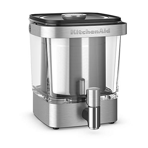 KitchenAid KCM5912SX Cold Brew Coffee Brewer 38 Ounce Brushed Stainless Steel