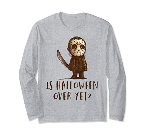 Ist Halloween Über Noch Freitag 13. Scary Hockey Kostüm Langarmshirt