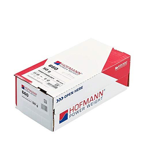 50x contrapesos de equilibrado Tipo 660 y 50g Hofmann Power Weight, Pesos de Clip de Coches equilibrado, Llantas de Aluminio