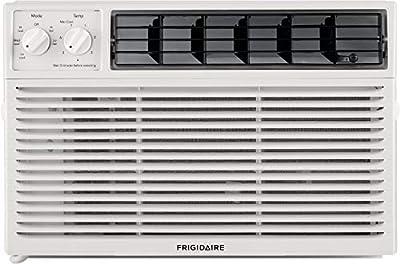 Frigidaire Mechanical Controls, White 6,000 BTU 115V Window-Mounted Mini-Compact Air Conditioner
