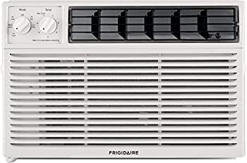 Frigidaire Energy Star 6,000 BTU 115V Window-Mounted Compact Air Conditioner with Mechanical Controls White