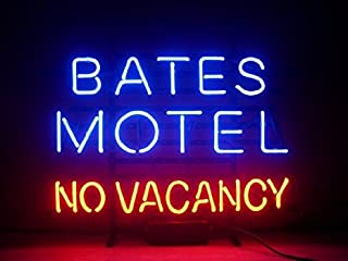 New Larger Bates Motel No Vacancy Neon Light Sign 20''x16'' H140(No More Long Waiting for WEEKS/MONTHS with Fast Shipping From CA With FREE USPS Priority Mail)