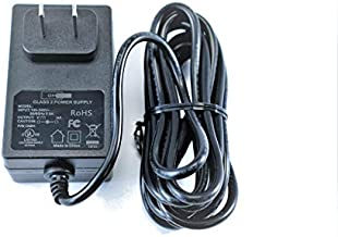 [UL Listed] OMNIHIL 8 Feet Long AC/DC Adapter Compatible with Electrohome Archer Vinyl Turntable Record Player EANOS300 Power Supply Cord