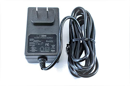 [UL Listed] OMNIHIL 8 Feet Long AC/DC Adapter Compatible with Logitech G25 G27 G29 G920 G940 Racing Wheels / Logitech Power Adapter P/N: 190211-A030