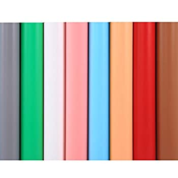 Selens 15.7X26INCH Photography Color Backdrop Paper Matte PVC Background 8 in 1 Kit