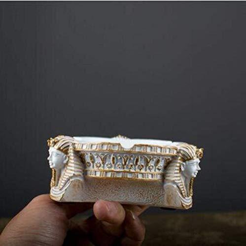 AMITD oude Egyptische stijl Pharao asbak kantoor mode hotel ktv mode ashouder slaapkamer woonkamer decoratie