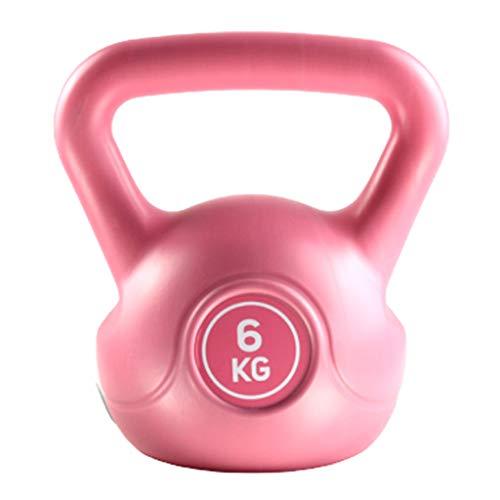 FLAMY Kettlebell 4-8 Kg Guss Inkl Workout,Kugelhantel,Unisex Erwachsene,Kugelhantel Schwunghantel Rundgewicht Aus Gusseisen