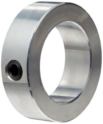 Climax Metal C-200 Steel Set Screw Collar, Zinc Plated Steel, 2