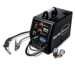 top rated Eastwood MIG 135 12011 110VAC 135A Output Current Tweco Style Gun Flux Core Welding 2021