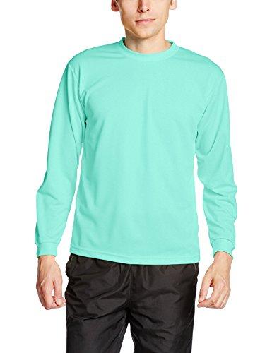 [グリマー] 長袖Tシャツ 4.4オンス ALT ドライ ロングスリーブ Tシャツ 00304-ALT ボーイズ ミントグリーン 140cm