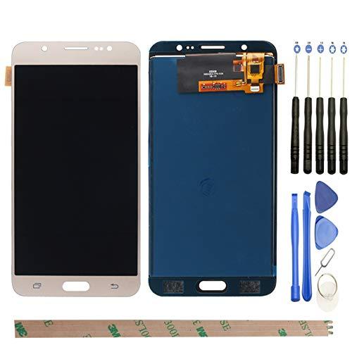 West Dragon LCD Touchscreen für Samsung Galaxy J7 2016 Display Ersatz Bildschirm Komplettes mit Werkzeuge für Samsung Galaxy J7 2016 J710F (Gold)