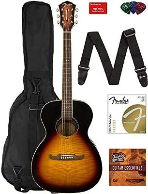 Fender CD-60SCE Guitar Bundles with Gig Bag