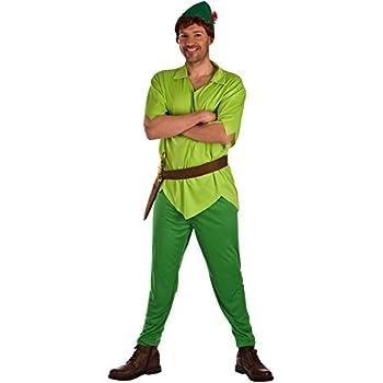 El Rey del Carnaval Disfraz de Peter Verde para Hombre: Amazon.es ...