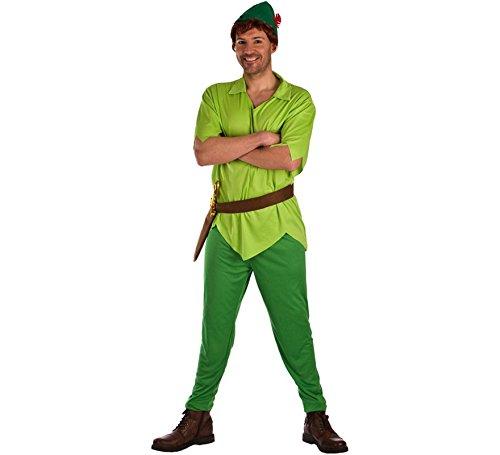 El Rey del Carnaval Disfraz de Peter Verde para Hombre