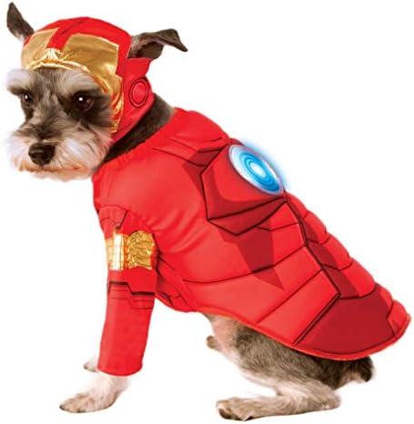 Rubie s Avengers Assemble Deluxe Iron Man Pet Costume X Large product image