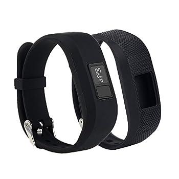 Weinisite Wristband for Garmin Vivofit 3 Replacement Band for Garmin Vivofit 3  Black