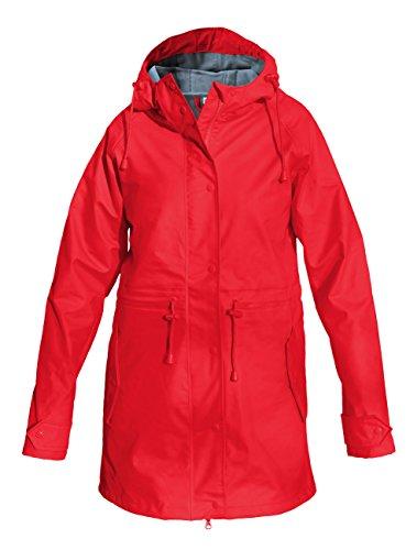 AS Bekleidungswerk GmbH Modas Damen Regenmantel - leicht tailliert, Farbe:rot, Größe:36/38