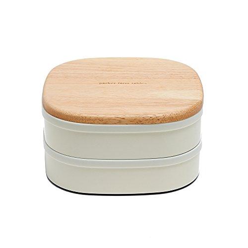 パーカーファームテーブル ギャザリングランチボックス 弁当箱 アイボリー PT-701