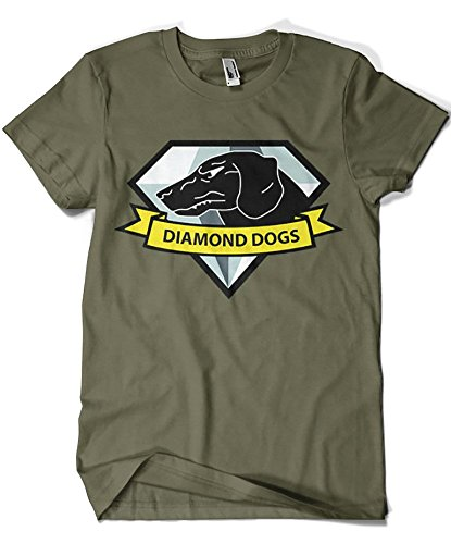 1623-Camiseta Diamond Dogs (Gualda Trazos)