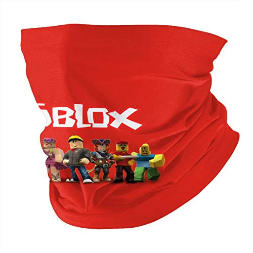 LvSe Rob_lox Fashion Colorful Multifunctional Mask Headwear Face Scarf Dust Wind Sun Protection